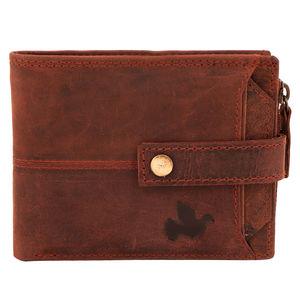 Christian dukaan Wallet for Men's (Brown) - WLLTS-016