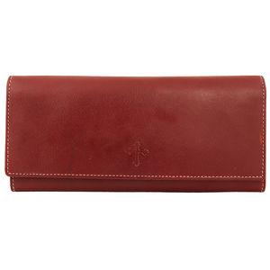 Christian dukaan Womens Purse Clutch Wallet (Brown) - WLLTS-025