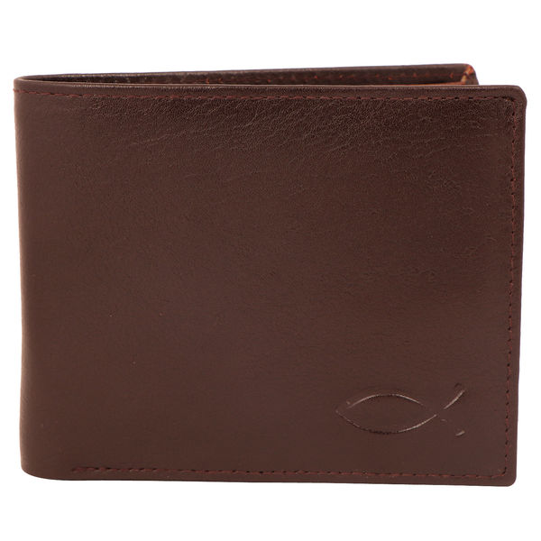 Christian dukaan Wallet for Men's (Thick Brown) - WLLTS-004