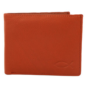 Christian dukaan Wallet for Men's (Light Brown) - WLLTS-009