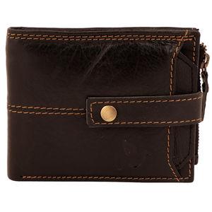 Christian dukaan Wallet for Men's (Brown) - WLLTS-011