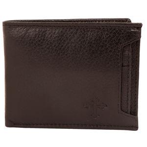 Christian dukaan Wallet for Men's (Black) - WLLTS-002