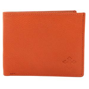 Christian dukaan Wallet for Men's (Light Brown) - WLLTS-015