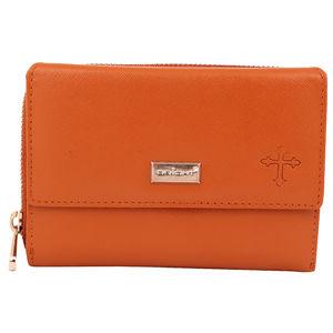Christian dukaan Wallet for women's (Brown) - WLLTS-018