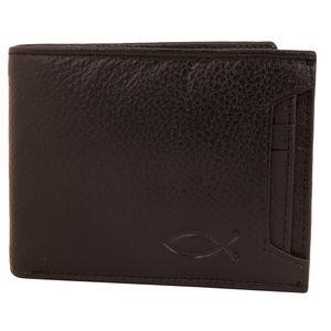Christian dukaan Wallet for Men's (Black) - WLLTS-013