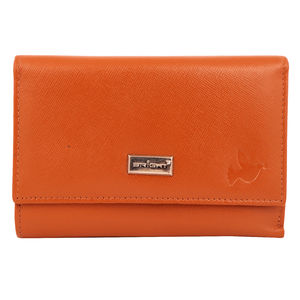 Christian dukaan Wallet for women's (Brown) - WLLTS-023