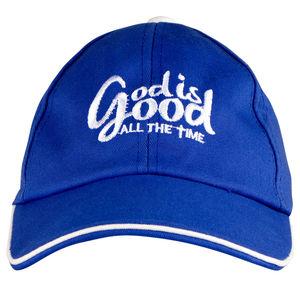 Christian dukaan Unisex Baseball Cap (Blue)