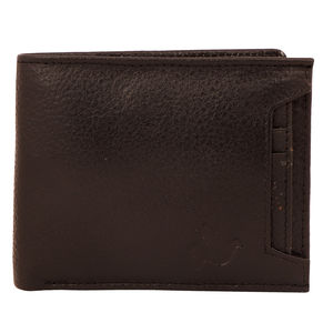 Christian dukaan Wallet for Men's (Black) - WLLTS-006