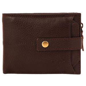 Christian dukaan Wallet for Men's (Brown) - WLLTS-007