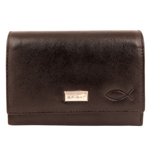 Christian dukaan Wallet for women's (Brown) - WLLTS-020
