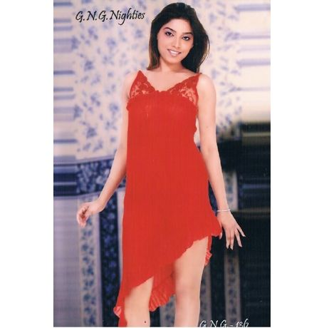 Babydoll Nighty - Honeymoon women sleepwear - JKHNS - Short - DNo 136