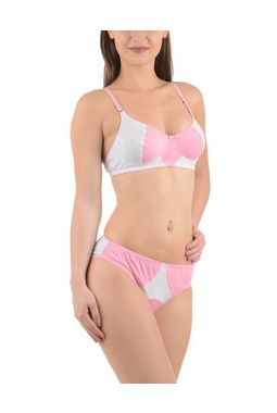 Super Chic Bra panty Set -NANCY, 36b, peach