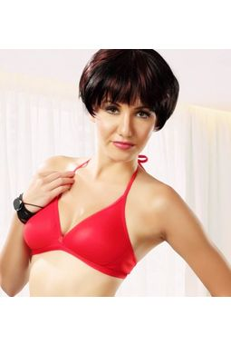 Halter Neck Bra - JKLOVBRA- PURNIMA, 30b - 3 bra, as in stock