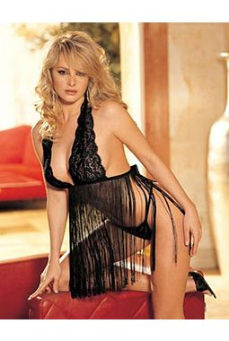 Black Angel Babydoll - JKKLIFE - 4035, black