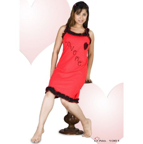 Premium Romantic Babydoll nighty - women sleepwear - JKHNS - Short - 1061