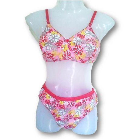 Multi Color Regular wear high quality bra panty sets JKSETNAGTANVI- 001, 36