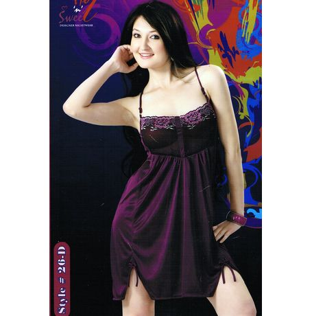 One Piece sweet babydoll - JKHNS - 1P - Style 26, purple