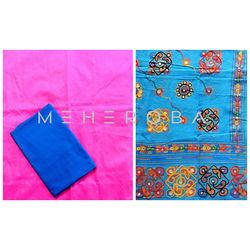 MEHEROBA DESIGNER DRESS MATERIAL - KUTCH COLLECTION - 107