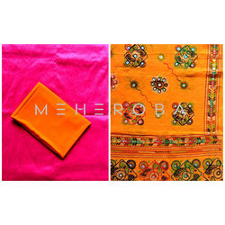 MEHEROBA DESIGNER DRESS MATERIAL - KUTCH COLLECTION - 112