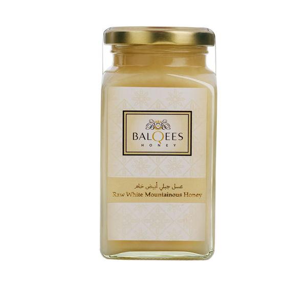 عسل جبلي أبيض خام, 270 G, لا