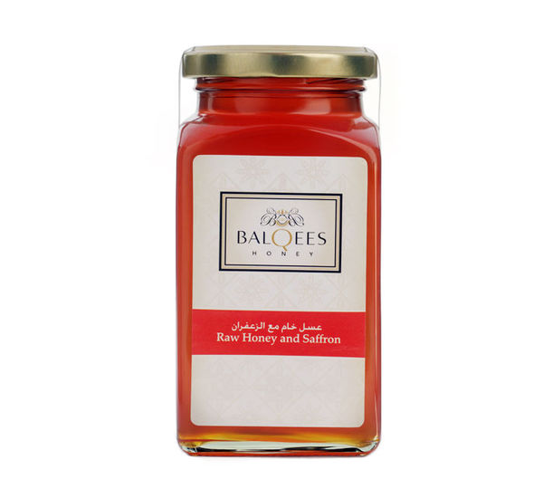 Raw Honey and Saffron, 290 g, no
