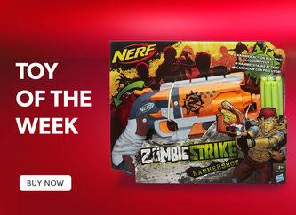NERF Guns Zombie Strike Hammershot Blaster