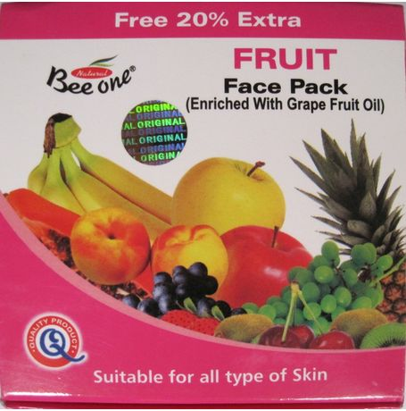 Beeone Fruit Face Pack - JKCOS-BE-FP-FRUIT-2502