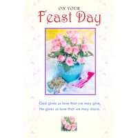 On your Feastday