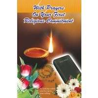 With Prayers on your First Religious Commitment