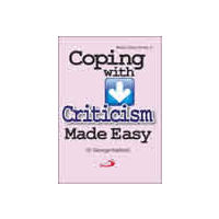 Coping with criticism made easy