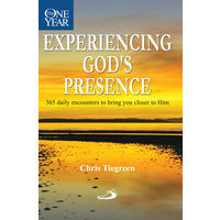 One Year Experiencing God's Presence