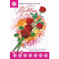 Warm Greetings On Your Wedding Day