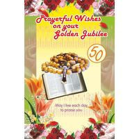 Prayerful Wishes on Your Golden Jubilee