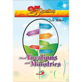 25 Questions About Vocation And Ministeries