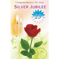 Congratulations on Your Silver Jubilee