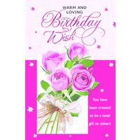 Warm And Loving Birthday Wish 1