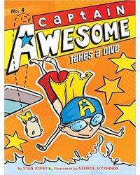 Captain Awesome Takes A Dive (Volume 4)