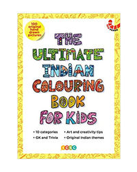 The Ultimate Indian Colouring Book For Kids