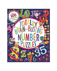 Totally Brain Busting Number Puzzles (Puzzle Book)