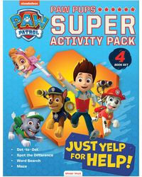 Paw Pups Super Activity Pack (4 Books)
