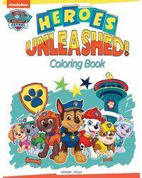 Heroes Unleashed: Paw Patrol Coloring Book For Kids