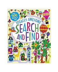 Totally Awesome Search And Find (Activity Book)