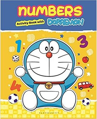 Numbers With Doraemon Activity Book