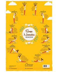 My First Early Learning Educational poster: Surya Namaskar