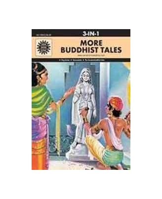 More Buddhist Tales: 3 In 1 (Amar Chitra Katha)
