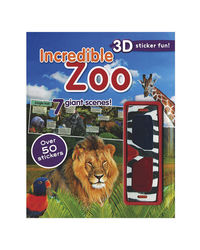 Incredible Zoo (3D Sticker Scene)