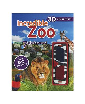 Incredible Zoo (3D Sticker Scene)
