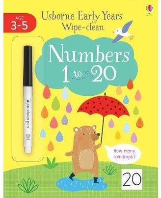 Early Years Wipe Clean Numbers 1 To 20