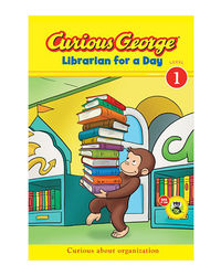 Curious George Librarian For A Day (Curious George: Green Light Readers, Level 1)