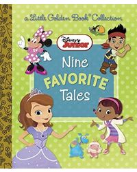 Disney Junior: Nine Favorite Tales (Disney Mixed Property) (Little Golden Book Favorites)